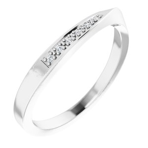 Stackable Wave Ring