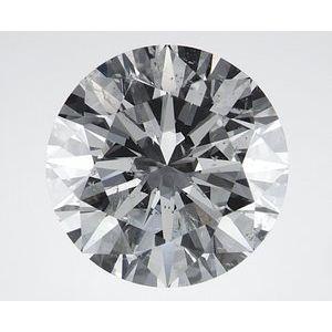 Round 2.60 carat I SI2 Photo