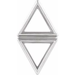 Triangle Bezel Setting