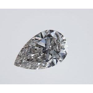 Pear Shape 0.38 carat J SI1 Photo