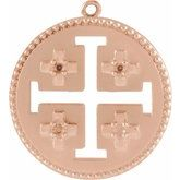 Jerusalem Cross Dangle