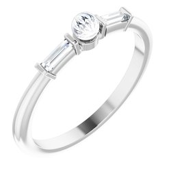 Accented Pearl Ring