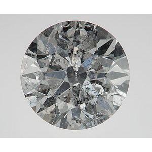 Round 2.56 carat J I1 Photo