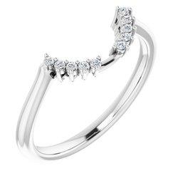 Halo-Style Engagement Ring alebo Band