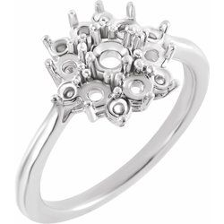 Floral-Inspired Ring