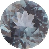 Round Genuine Gray Spinel