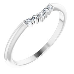 Rose-Cut Claw-Prong Engagement Ring or Band