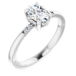 French-Set Ring
