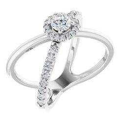 Halo-Style Ring