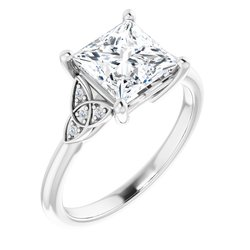 Celtic-Inspired Engagement Ring