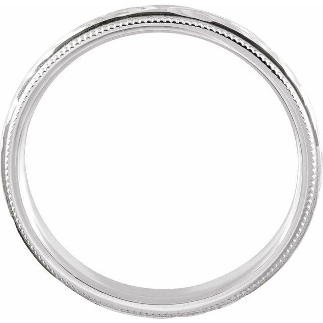 Platinum Comfort-Fit Band Size 7.5