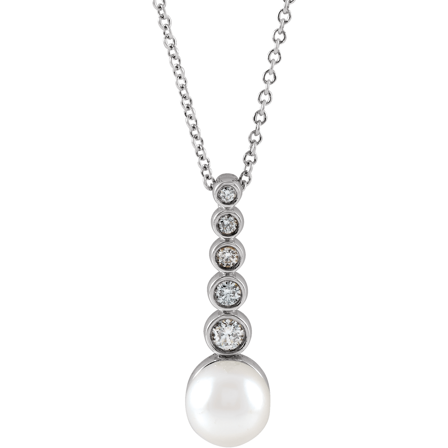 pearl bar necklace or pendant