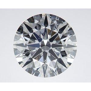 Round 2.53 carat G SI2 Photo