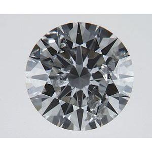 Round 0.66 carat H I1 Photo