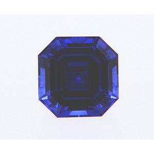 Sapphire Asscher 0.92 carat Blue Photo