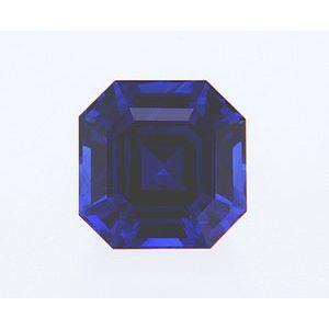 Sapphire Asscher 1.06 carat Blue Photo