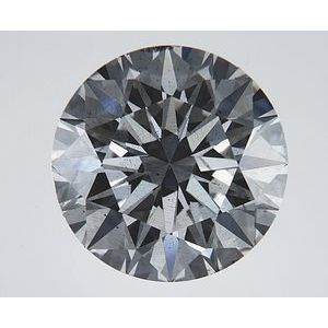 Round 3.02 carat H SI1 Photo