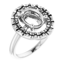 Halo-Style Ring