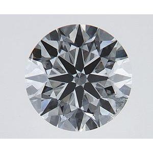 Round 0.60 carat E SI1 Photo