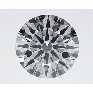 Round 0.37 carat F VS2 Photo