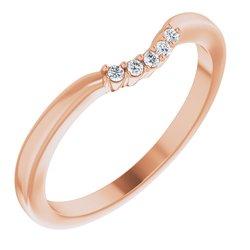 Halo-Style Split Shank Engagement Ring or Band