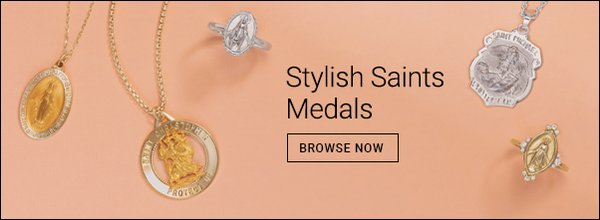 Stylish Saints Medals