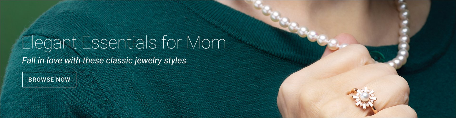 Elegant Essentials for Moms - Fall in love with these classic jewelry styles