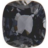 Antique Cushion Genuine Gray Spinel (Notable Gems™)