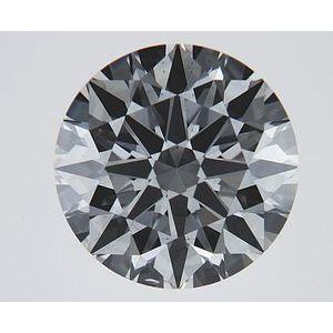 Round 1.62 carat H VS2 Photo
