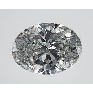 Oval 1.20 carat G I1 Photo