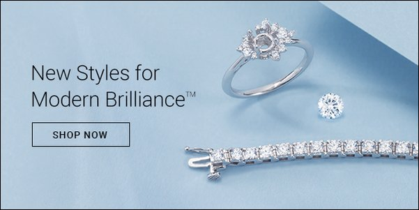 Modern Brilliance™ | Discover our newest lab-grown diamond jewelry styles. | Shop Now