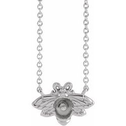 Pearl Bee Necklace or Center