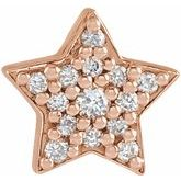 Star Necklace or Slide Pendant