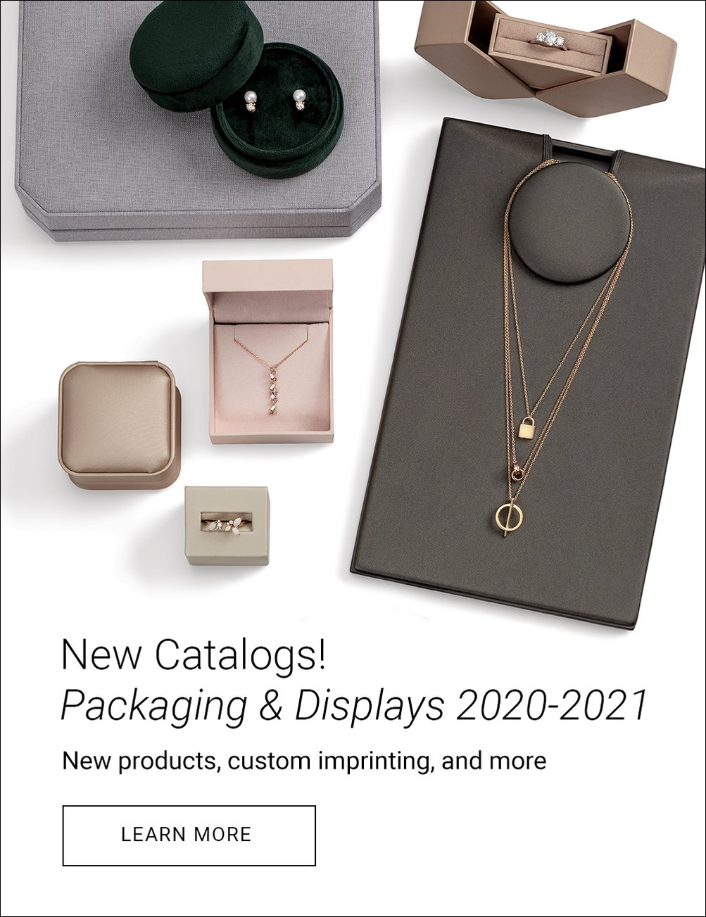 New Catalog! Packaging and Displays 2020-2021