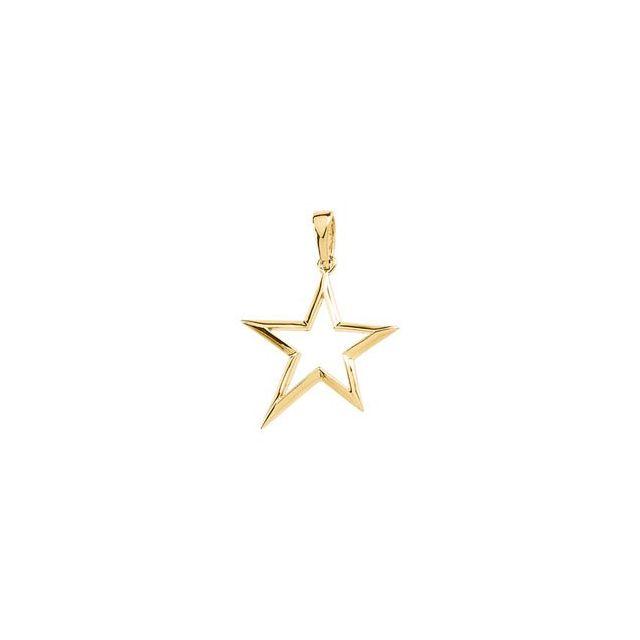 Star Shape Pendant