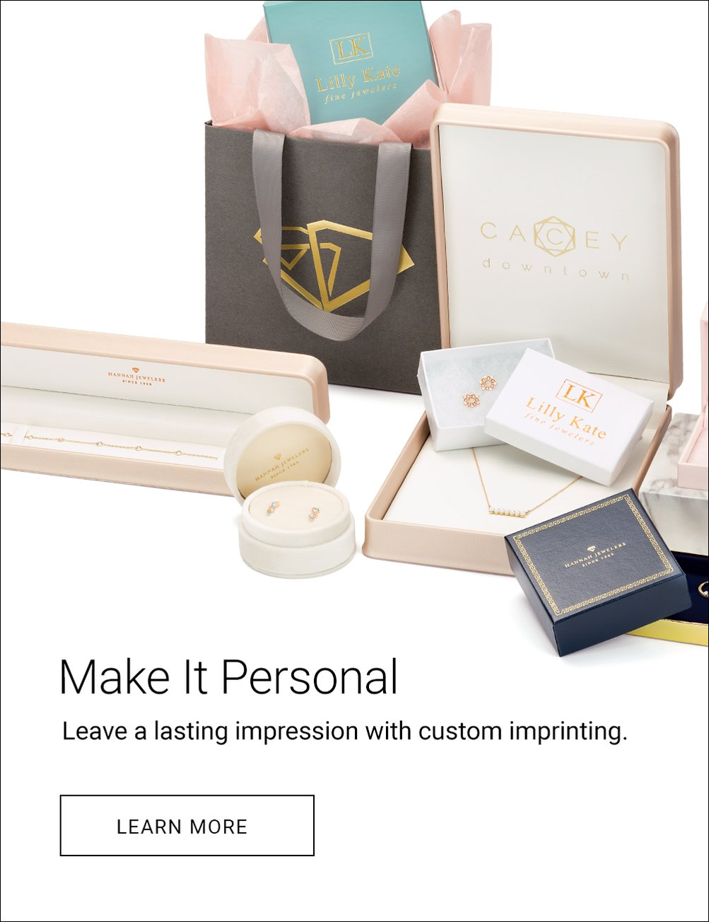 Make it personal with custom imprinting