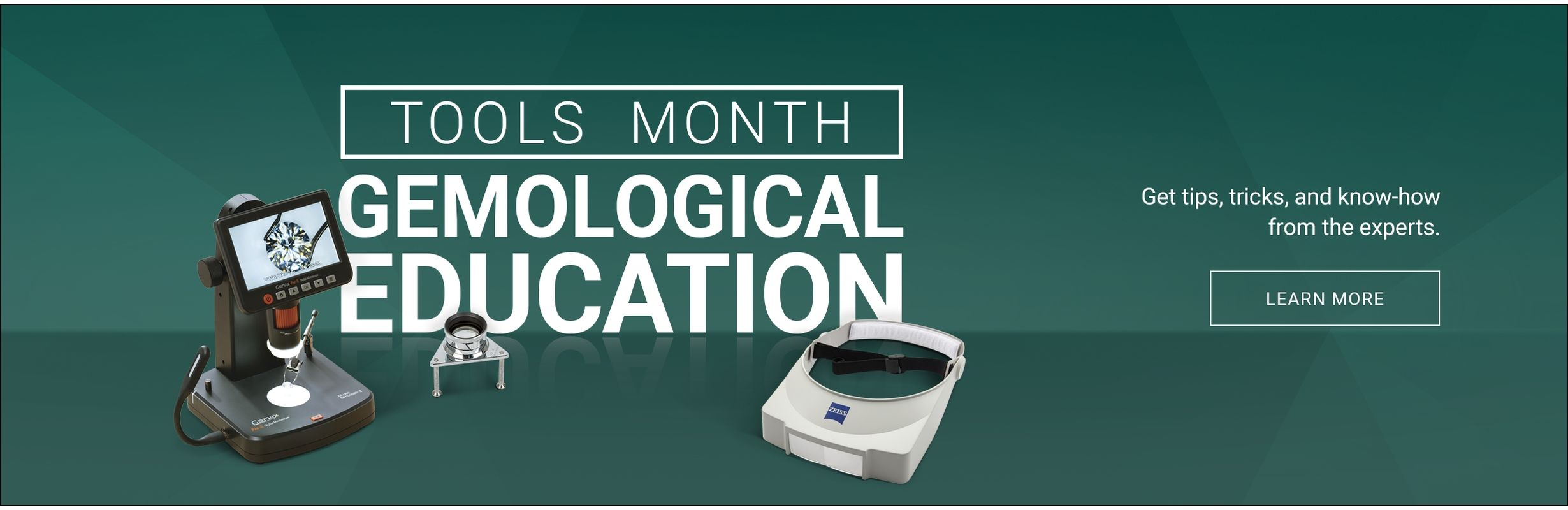 Tools Month - Gemological Education