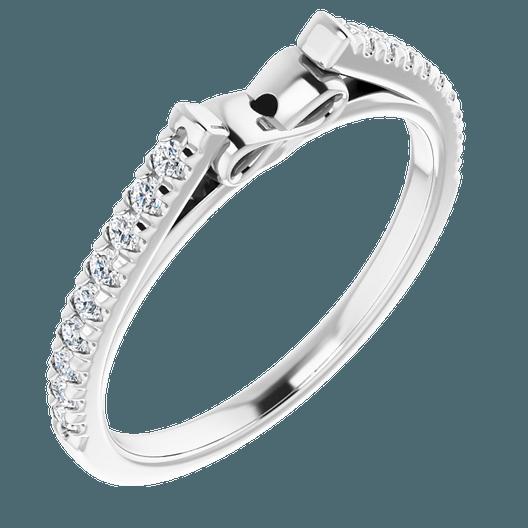 Shank of ring