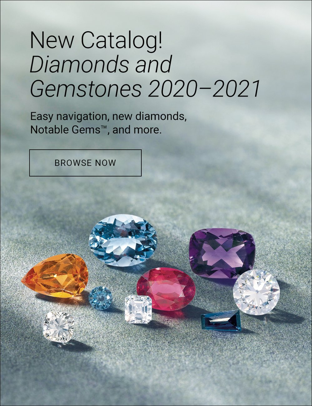 Diamond and Gemstones catalog