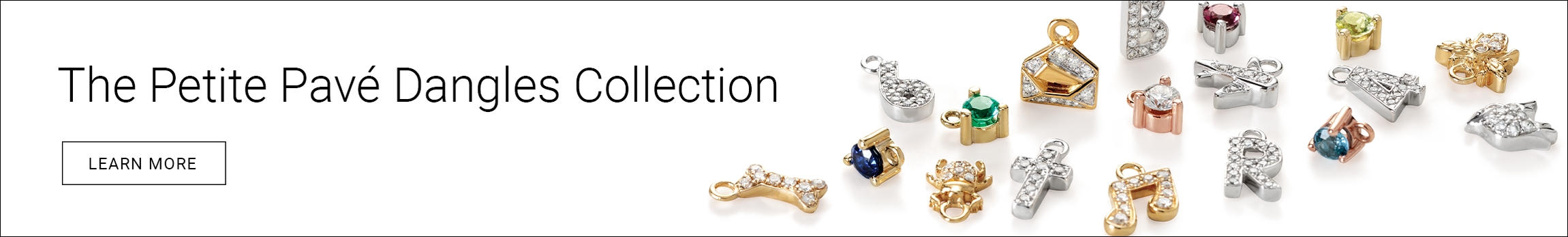 The Petite Pave Dangles Collection