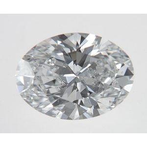 Oval 0.74 carat D SI1 Photo