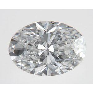 Oval 0.71 carat D SI1 Photo