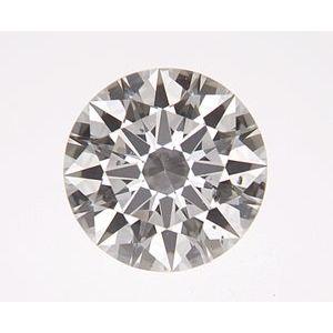 Round 0.33 carat H SI2 Photo