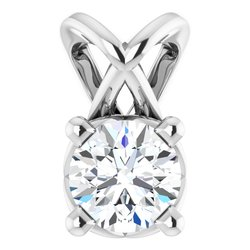 Solitaire Necklace or Pendant