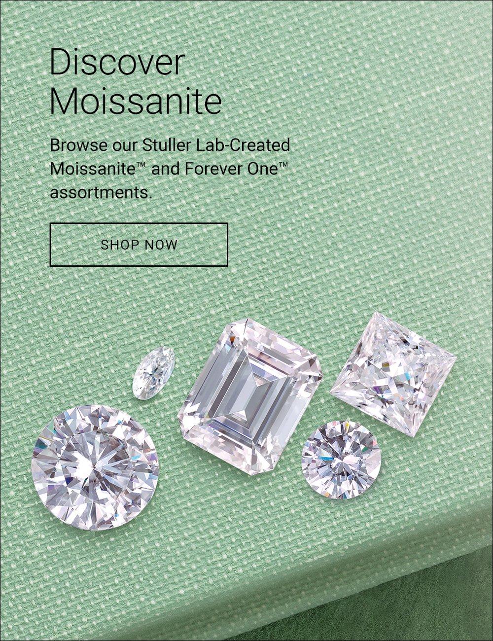 Discover Moissanite