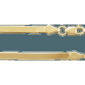 """14K Yellow 2.8 mm Flexible Herringbone 18"""" Chain"""