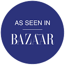 as seen in BAZAAR logo