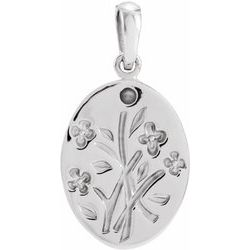 Family Wildflower Necklace or Pendant