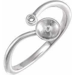 Pearl Freeform Ring