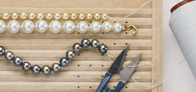 pearl stringing services